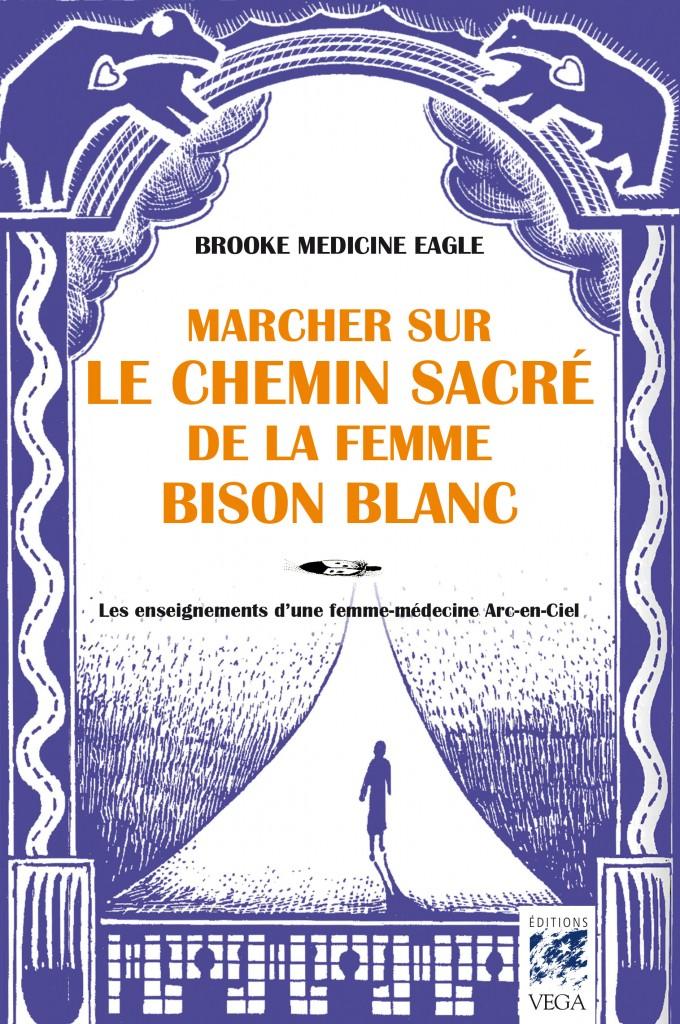 Brooke Medecine Eagle femme bison blanc