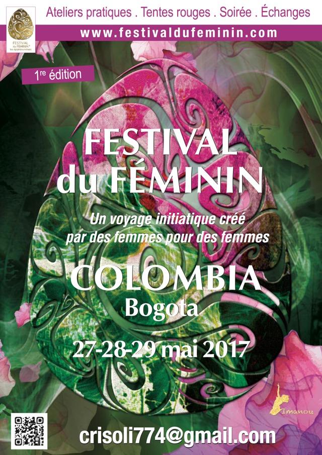 Festival du Féminin Bogota Colombie