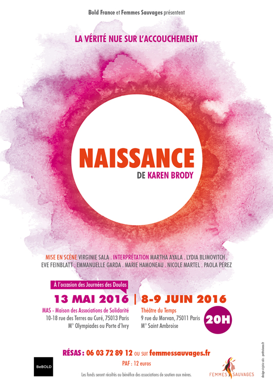 Naissance Bold Femmes Sauvages
