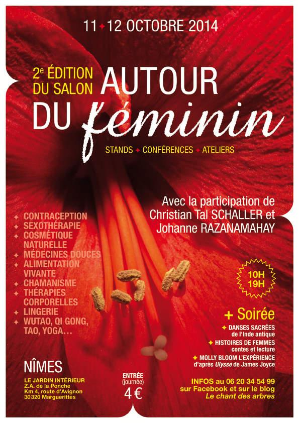 c24fb671329173 Salon Autour du Féminin à Nîmes, 11-12 octobre | Festival du Féminin