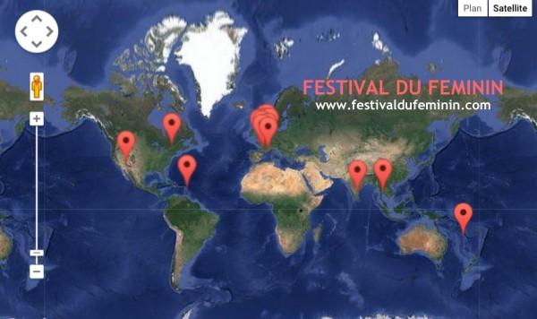 La carte des festivals