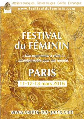 Festival du féminin Paris mars 2016