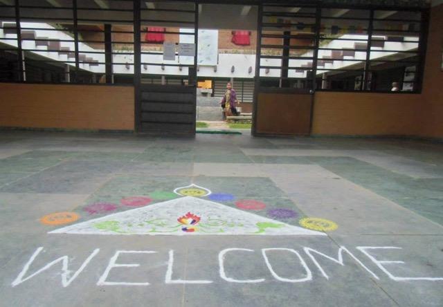 pavillon tibétain Auroville